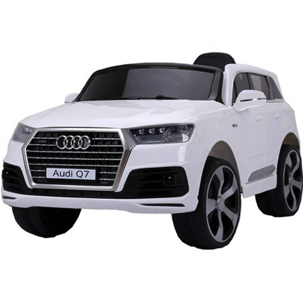 12v Licensed Audi Q7 Childrens Battery Operated 12v Ride On – White