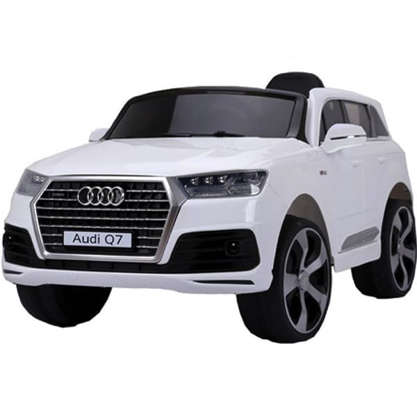 12v Licensed Audi Q7 Childrens Battery Operated 12v Ride On – White