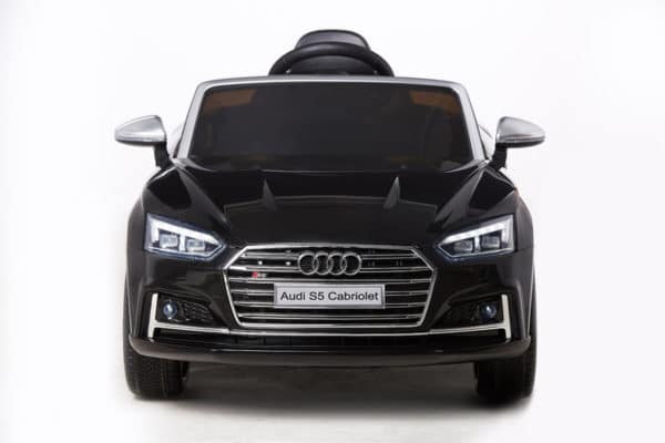Licensed 12v Audi S5 Children's Battery Operated 12v Ride On – Black