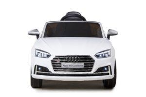 Licensed 12v kids Audi S5 Children's Battery Operated 12v Ride On – White