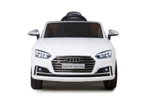 Licensed 12v Audi S5 Children's Battery Operated 12v Ride On – White