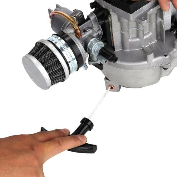 49cc Mini Moto Bike 2 Stroke Complete Engine Metal Pull Start Carburettor Filter
