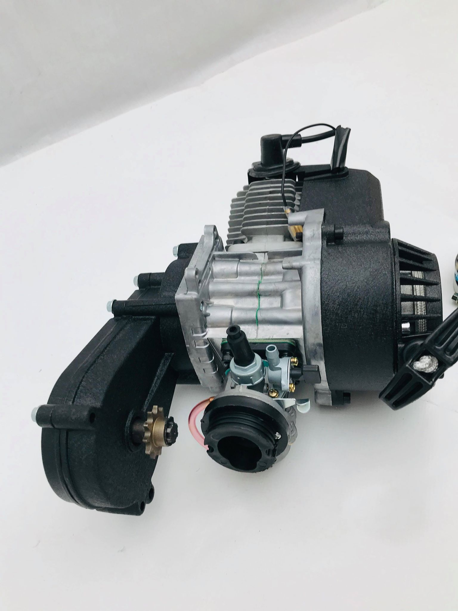 49cc Engine With Carb Gearbox For Mini Moto Dirt Bike Quad