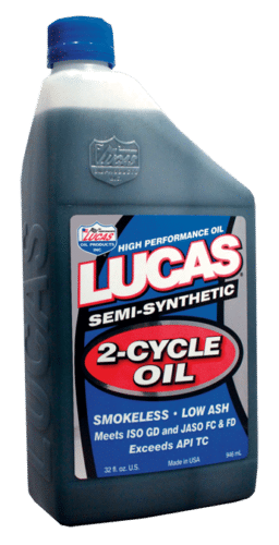 Lucas Semi Synthetic 2 Stroke Oil