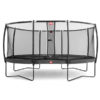 Berg Grand Champion Inground Trampoline 350 Grey + Safety Net Deluxe