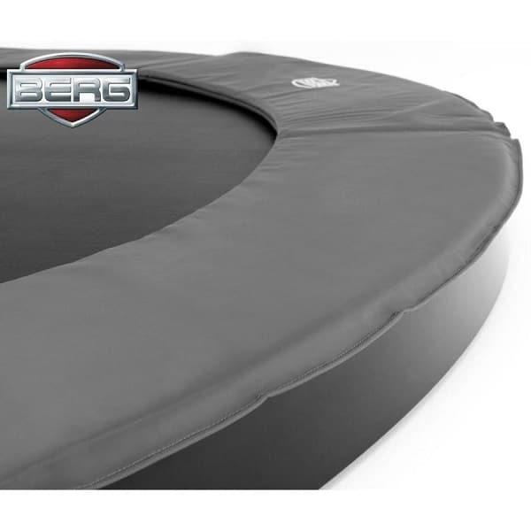Berg Elite Inground 430 Trampoline Red With Safety Net Deluxe
