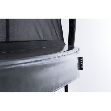 Berg Elite 330 Trampoline Grey With Safety Net Deluxe