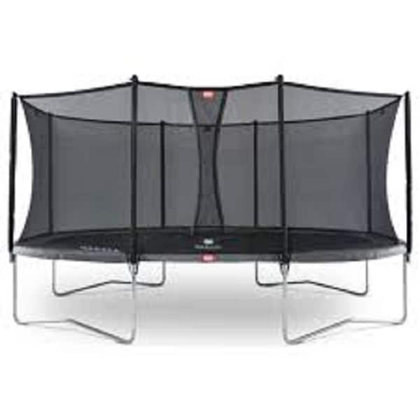 Berg Grand Favorit 520 Grey Trampoline With Comfort Net