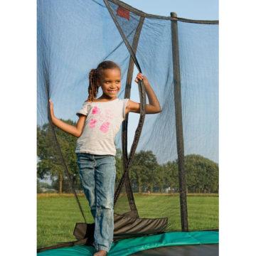 Berg Champion Inground Trampoline 430 Green + Safety Net Comfort
