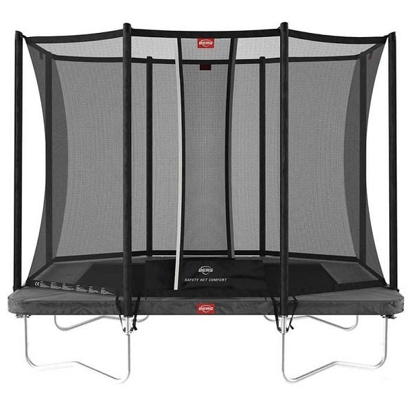 Berg Ultim Favorit 280 Green Trampoline With Safety Net Comfort