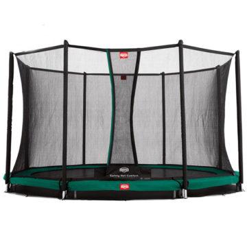 Berg Grand Favorit Inground 520 Grey Trampoline + Safety Net Comfort