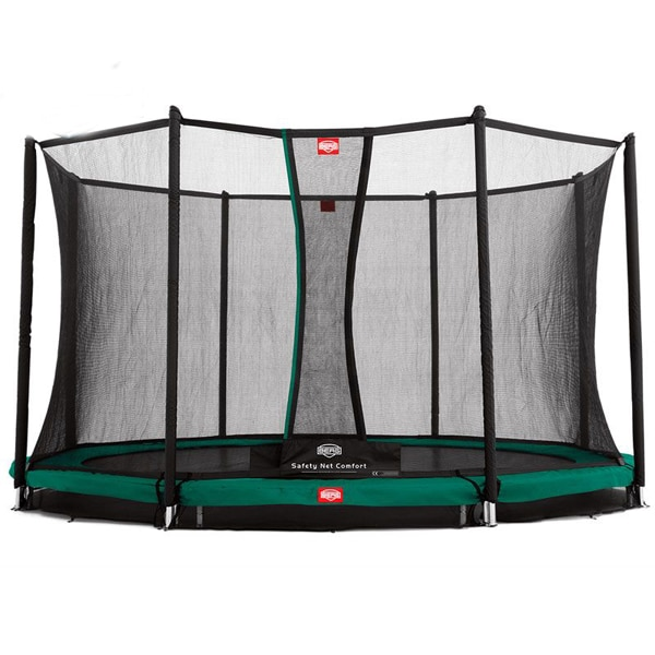 Berg Grand Favorit Inground 520 Grey Trampoline + Safety Net Comfort