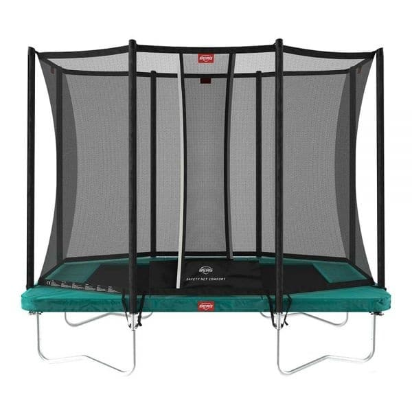 Berg Ultim Favorit 280 Trampoline Grey With Safety Net Comfort