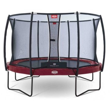 Berg Elite 380 Trampoline Green With Safety Net Deluxe
