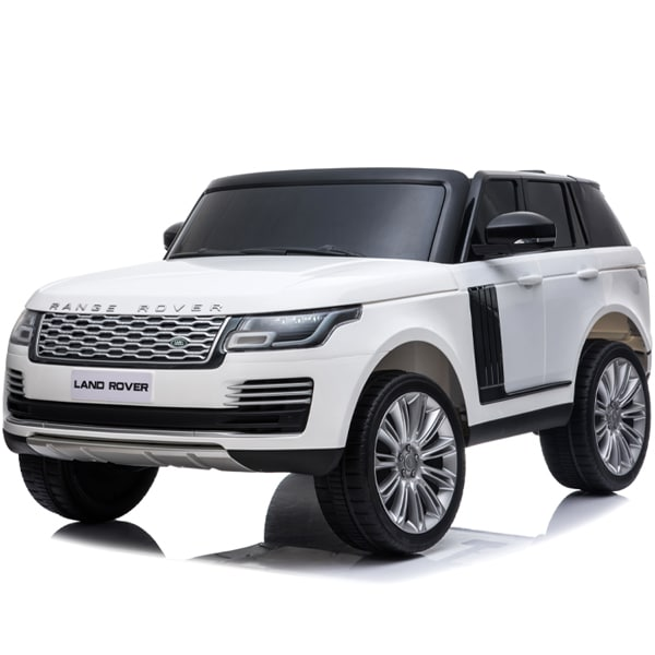 Kids Electric Kids Range Rover Vogue Black 24v 4wd Ride On – White