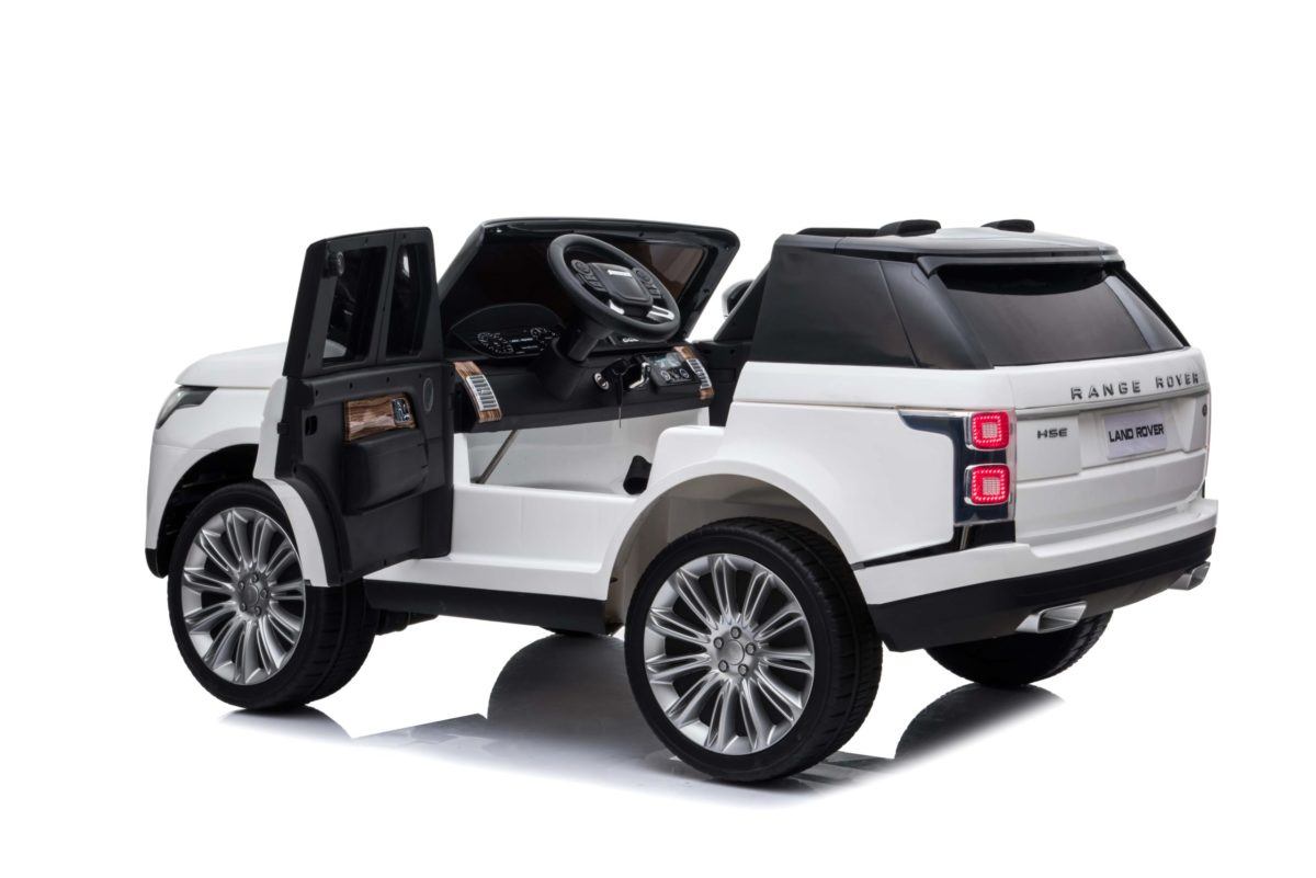 Kids Electric Range Rover Vogue White 12v Ride On Toy