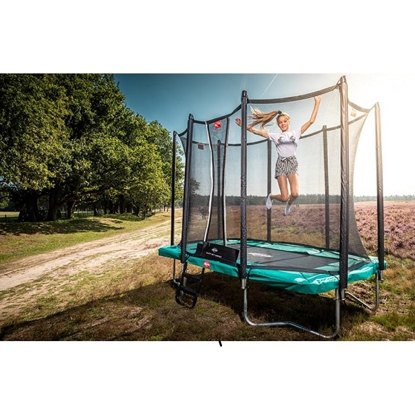 Berg Ultim Favorit 280 Trampoline Grey with Comfort Net