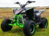 Quadzilla Spider 110cc Kids Quad Bike  Black