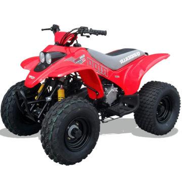 Quadzilla R100 Kids Quad Bike 2 Stroke Red