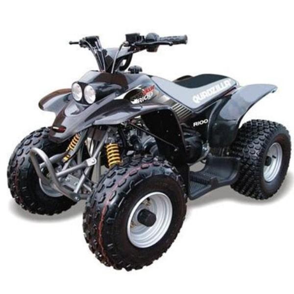 Quadzilla R100 Kids Quad Bike 2 Stroke Black