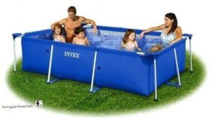 Intex Metal Frame 7ft Swimming Pool
