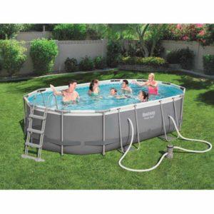 Bestway 56620 Power Steel Swimming Pool 14ft