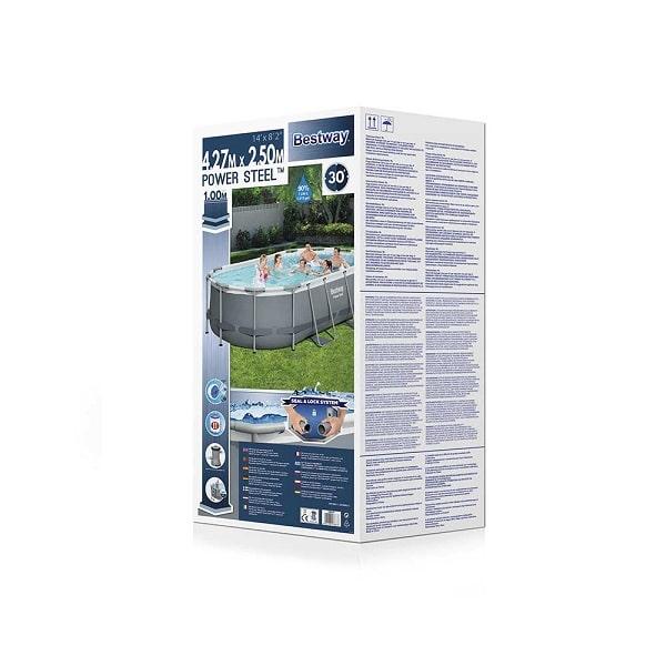 Bestway Power Steel Swimming Pool 14ft