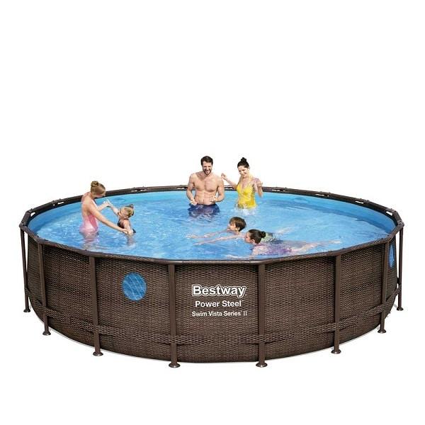 Bestway Power Steel Vista 18ft Swimming Pool