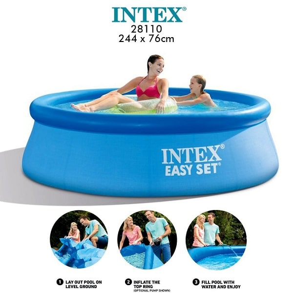 Intex 8ft Easy Set Swimming Pool