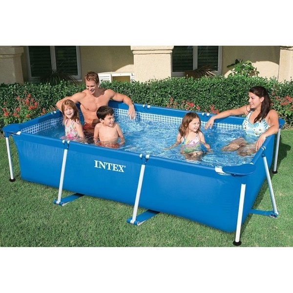 Intex Metal Frame 8ft Swimming Pool