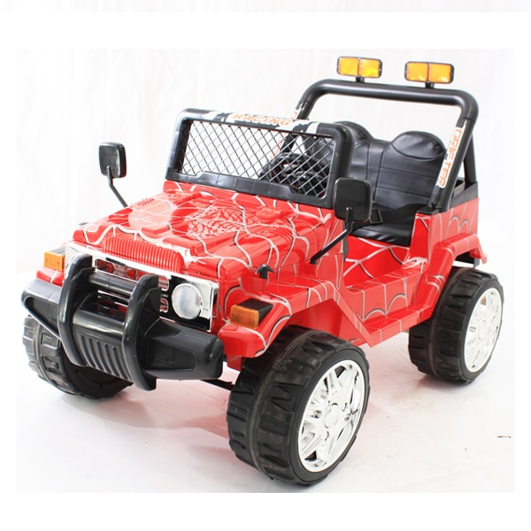 12v Kids Electric Jeep Wrangler Raptor Style Electric Car Red