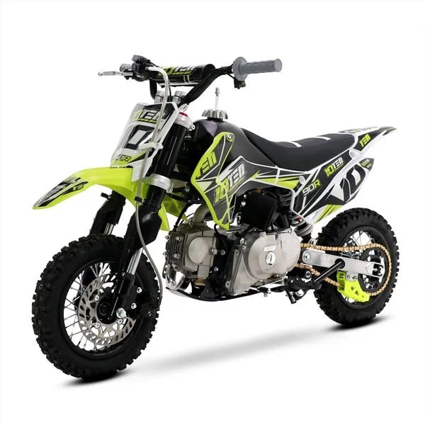 10ten 90r 90cc Motorbike 62cm Semi Automatic Kids Mini Pit Bike
