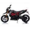 Licensed Aprilia Dorsoduro 900 12v Ride On Motorbike Black
