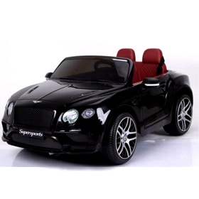 12v Kids Licensed Electric Bentley Continental Gloss Black