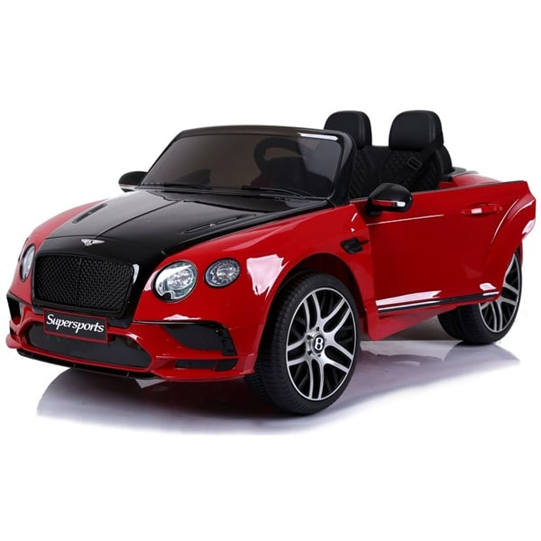 12v Licensed Kids Bentley Continental Red And Black