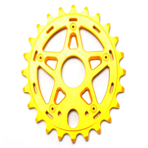 Gully Sprocket Black 24t Bmx Bike Sprocket