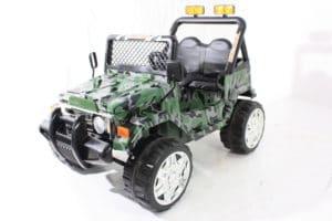 12v Kids Electric Jeep Wrangler Raptor Style Electric Car Camo