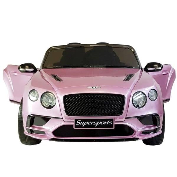 12v Licensed Kids Bentley Continental Candy Pink