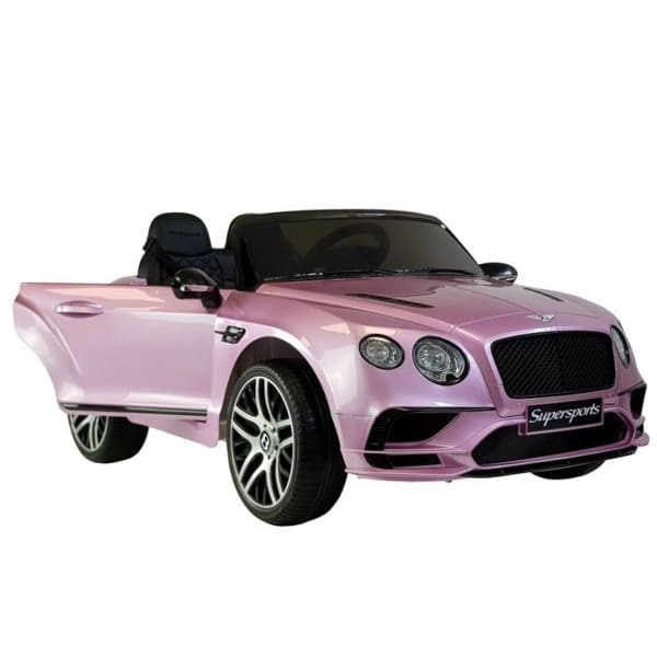 12v Licensed Kids Bentley Continental Candy Pink