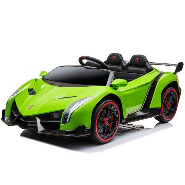24v Licensed Kids Lamborghini Veneno – Green