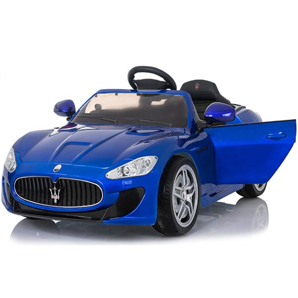 12v Licensed Kids Maserati Electric Car Blue