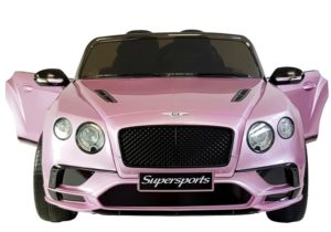 12v Kids Bentley Continental Candy Pink