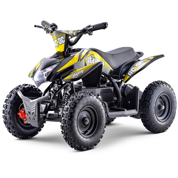 Stomp Kids Electric Quad Bike Acdc Neon Yellow 800w