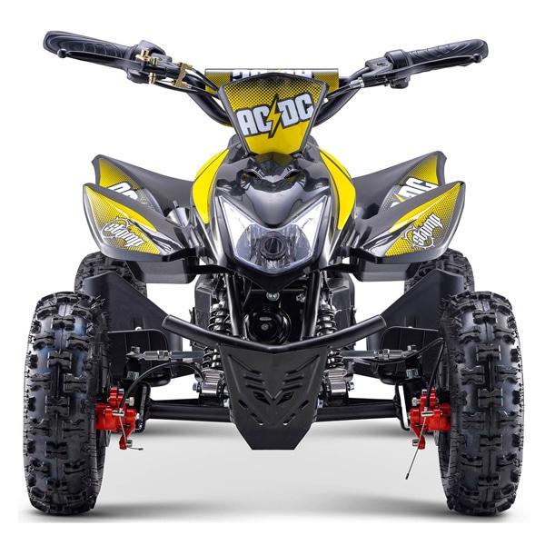Stomp Kids Electric Quad Bike Acdc Neon Yellow 800w