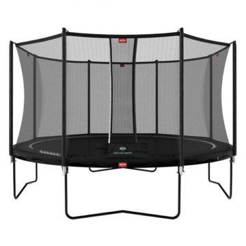 Berg Favorit 430 Trampoline Black With Comfort Net