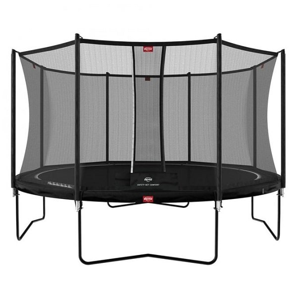 Berg Favorit 430 Trampoline Black With Comfort Net