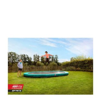 Berg Grand Champion Inground Trampoline 350 Grey with Net Deluxe