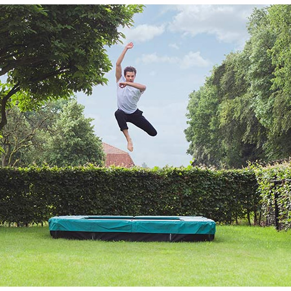 Berg Ultim Favorit 280 Trampoline Inground Green