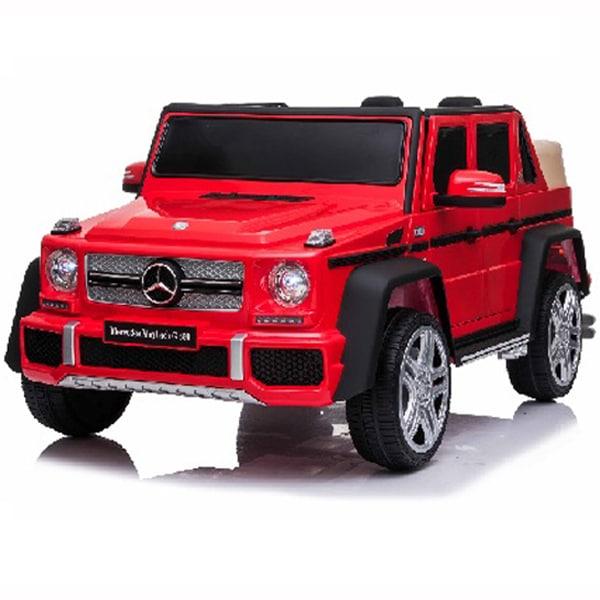Licensed 12v Mercedes G650 Kids Electric Car – Red