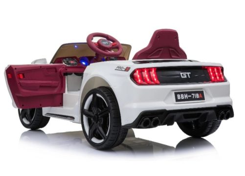 12v Ford Mustang Gt Style White